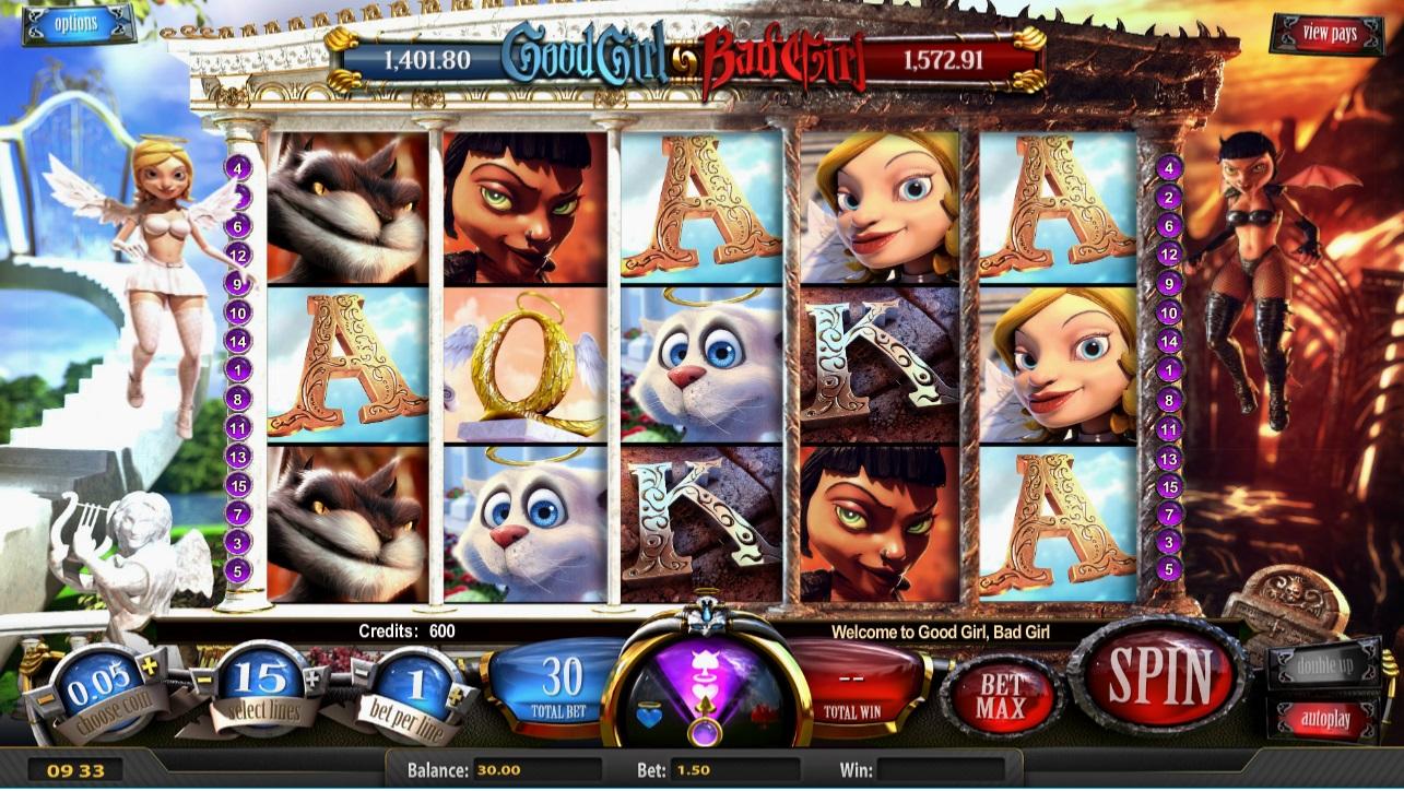 エムビットカジノで遊べるおすすめゲーム「Good Girl,Bad Girl(スロット)」
